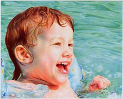 Pool Boy - Ballpoint Pen by VianaArts