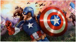 Captain America - Ballpoint Pen