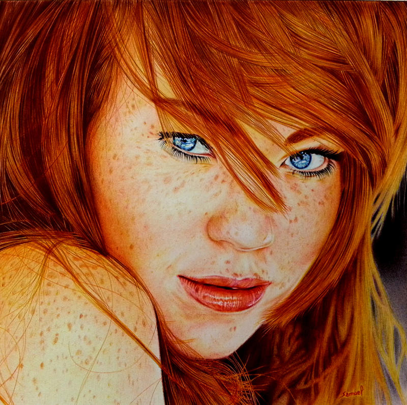 Redhead art Nude Photos 6