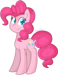 Pink Fluffeh Horse