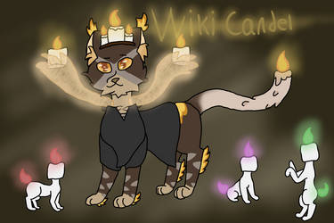 Wiki Candel, Official by TheColorlessCat