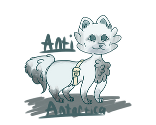 Antartica catto by TheColorlessCat