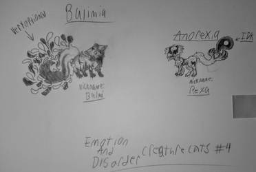 Emotion  Disorder Creature Cats #4 by TheColorlessCat