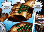 One Piece Chapter 778 Zoro VS Pica climax Part 1