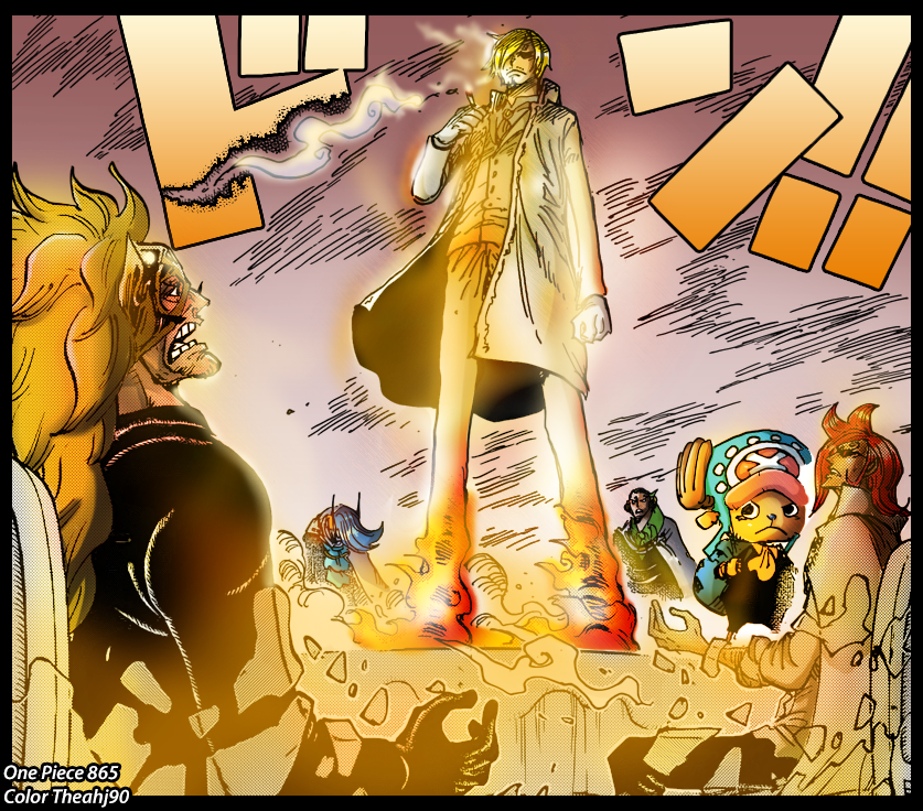 One Piece 865 Sanji Frees His Family By Theahj90 On Deviantart