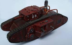 The Duke Steamtank by ThePrinceofMars