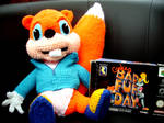 Conker cuddly toy