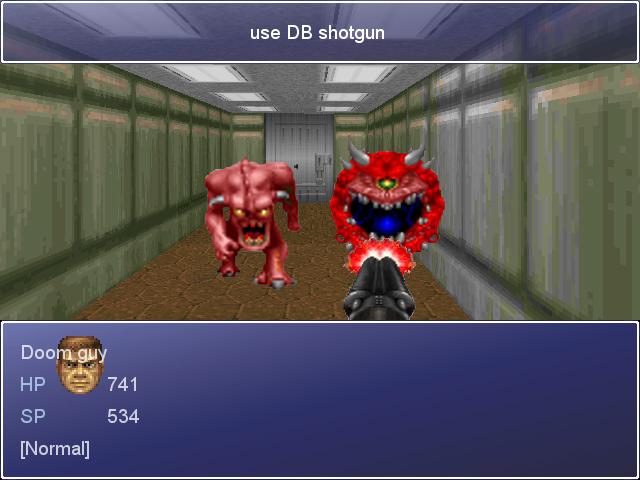 Doom rpg maker project screenshot 3 by ThePrinceofMars on