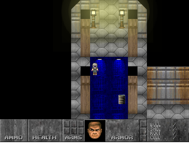 Doom rpg maker project screenshot 4 by ThePrinceofMars on