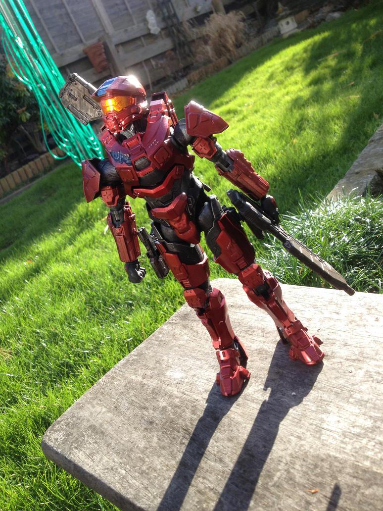Halo Master Chief SpruKit by ThePrinceofMars