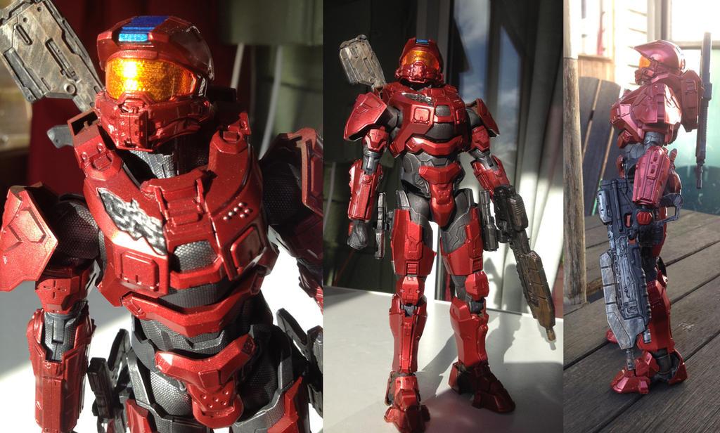 Halo Master Chief SpruKit additional photos by ThePrinceofMars
