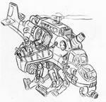 Metal Slug style concept art 5
