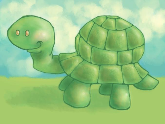 Rockwell the Turtle by kameleonkat