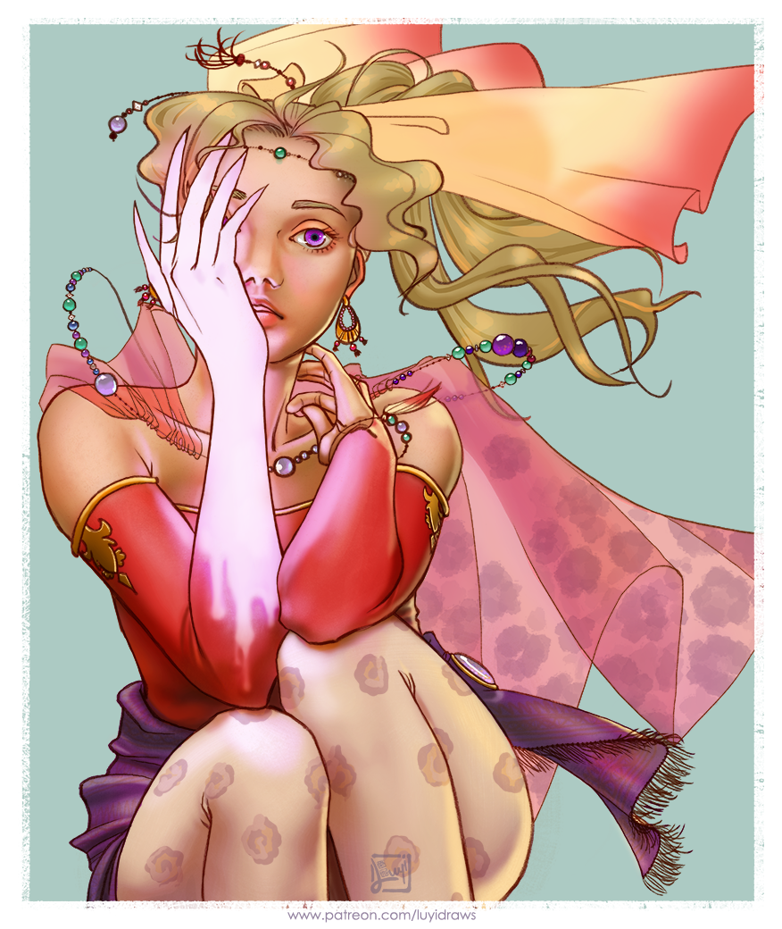 Terra (FFVI) by luyidraws