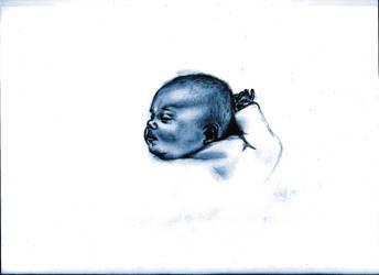 baby, portarit by bulletproooof