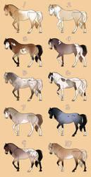 Spring 2019 Equine Adopts [2/10] by MatrixPotato
