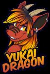 Badge: Yukai Dragon