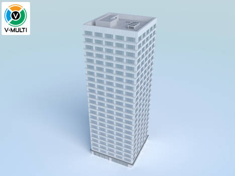 Low Poly Building 1