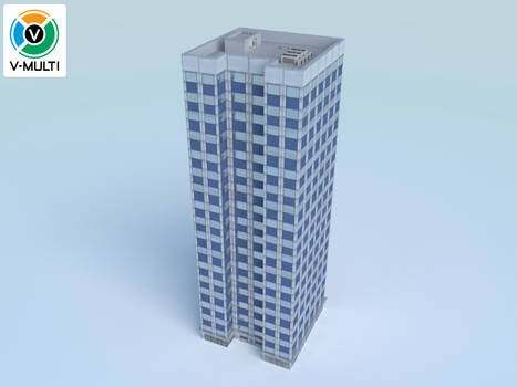 Low Poly Building 3