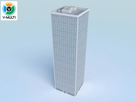 Low Poly Building 4