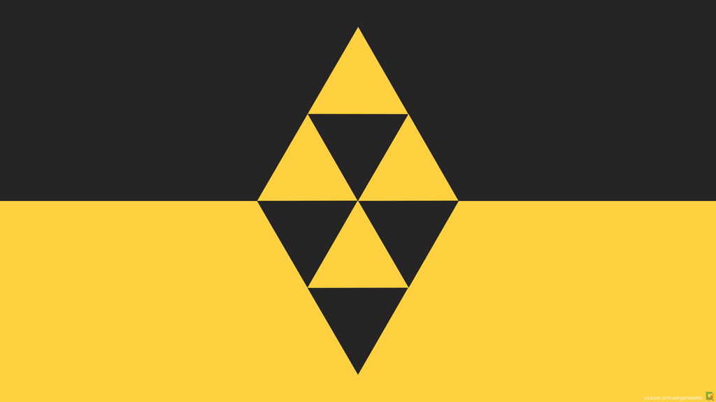 A Link Between Worlds minimal wallpaper by tomastankiewicz on