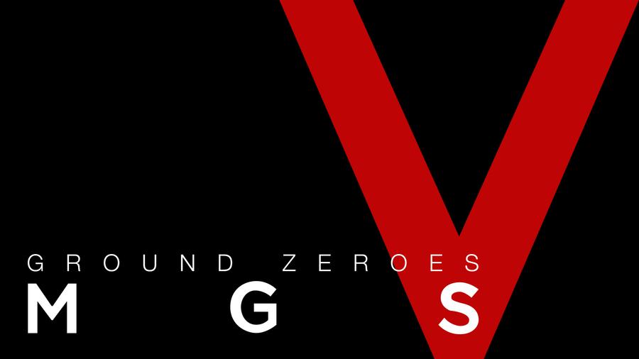 MGS - Ground Zeroes minimal wallpaper by tomastankiewicz