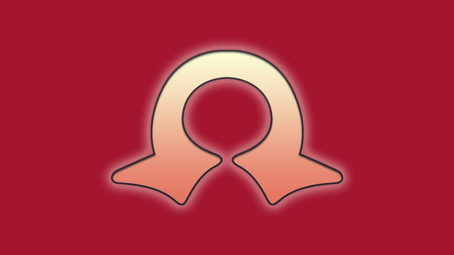Pokemon Omega Ruby minimal wallpaper by tomastankiewicz