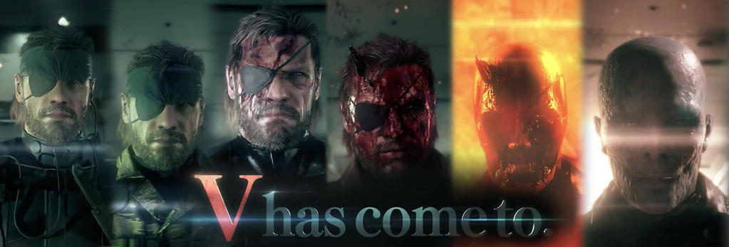 V has come to - MGS V: The Phantom Pain by tomastankiewicz