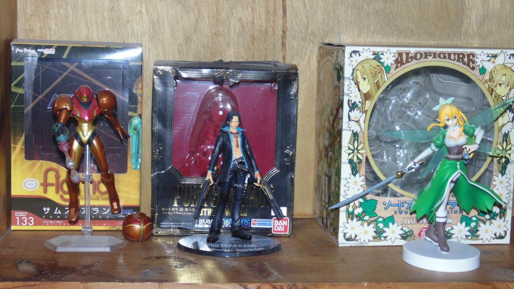 Figure Collection Thus Far by IchigoXXRukia