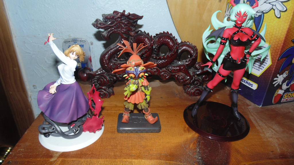 Newest Figures: Arcueid, Skull Kid, Scanty by IchigoXXRukia