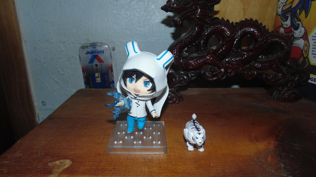 Figure Collection: Devil Survivor 2 Kuze Nendoroid by IchigoXXRukia