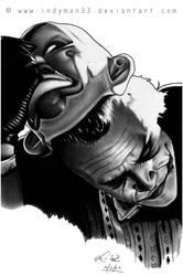 Heath Ledger, The Joker - The Dark Knight