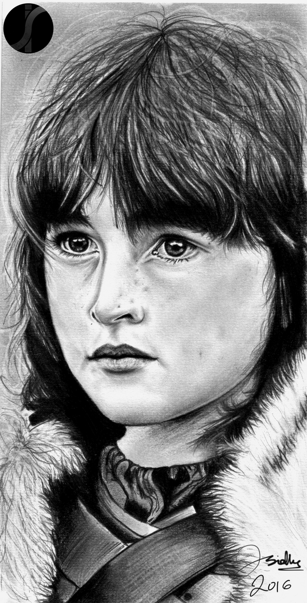 Isaac H. Wright, Bran Stark - Game of Thrones. by IndyMan33