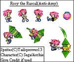 Anti Rosy the Rascal Sprites