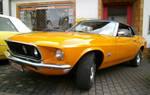 Orange Mustang 1