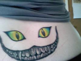 My Cheshire Tattoo by Harlequin-Rose