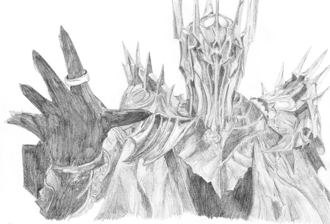 Sauron Drawing