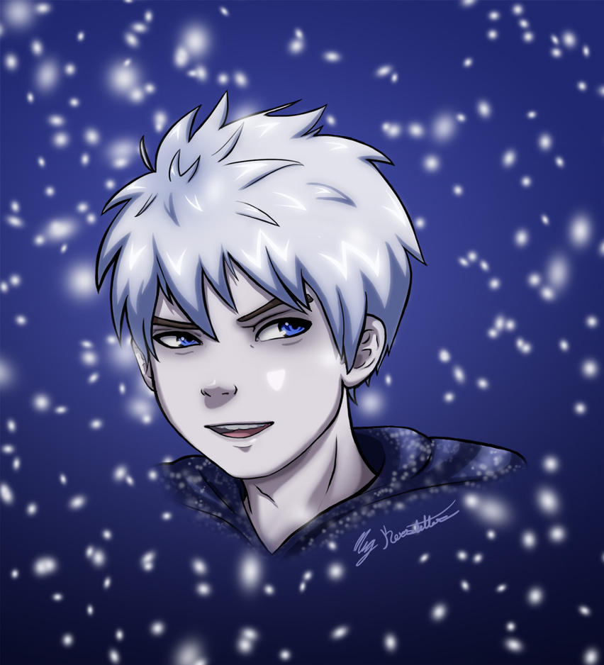 Jack Frost Spirit Of Winter by WhispersInTheMirror