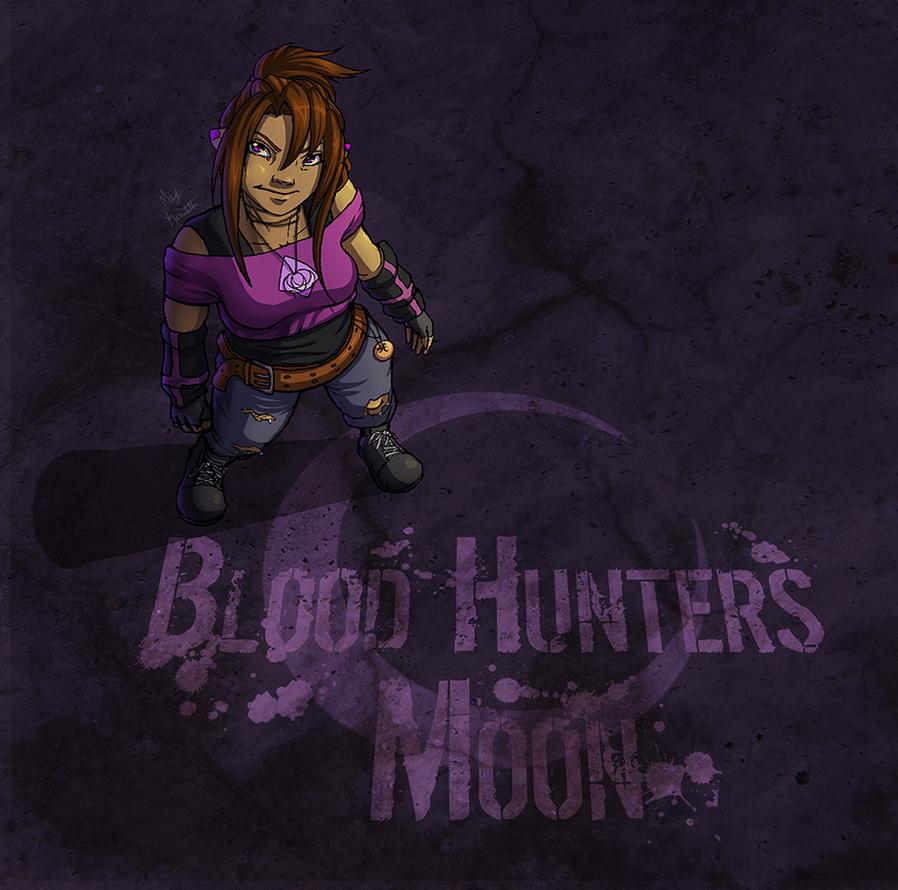 Jordan Taylor: Blood Hunters Moon by WhispersInTheMirror