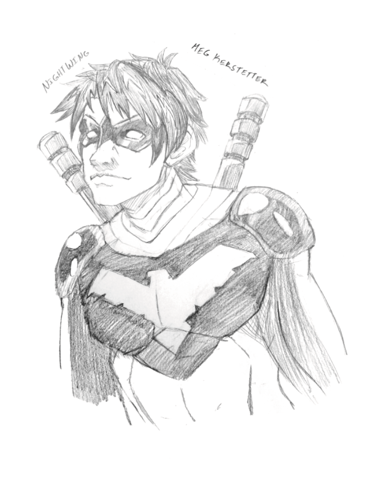 Nightwing by WhispersInTheMirror