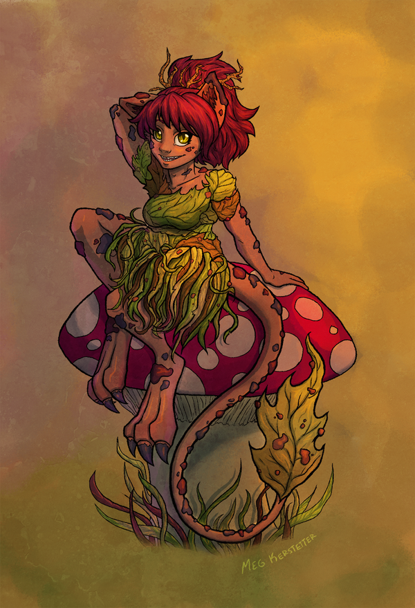 Forest Pixie by WhispersInTheMirror