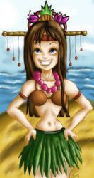 Island Princess -Coloured- by shidesha