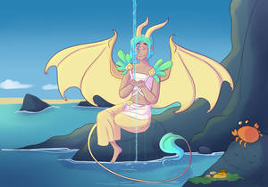 Prettygurl and Pleasant waters_Af