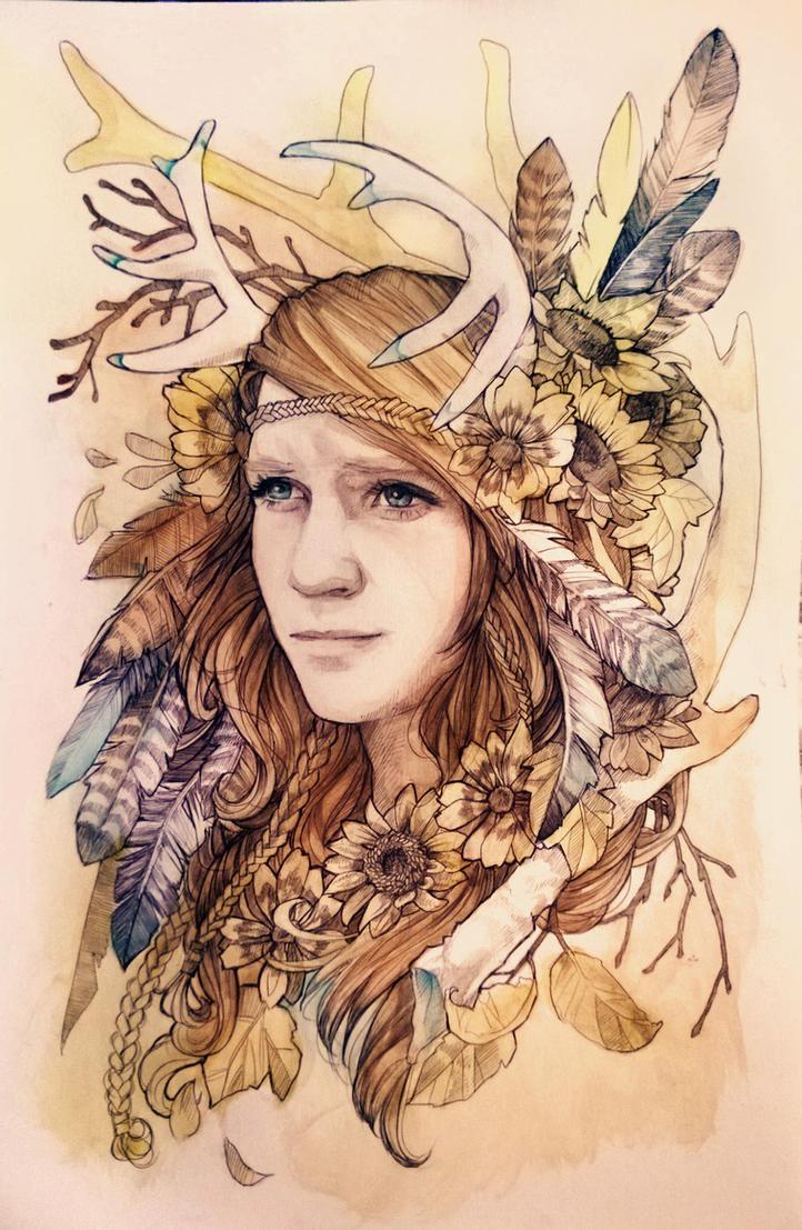 Kaylaflower by LadyEru