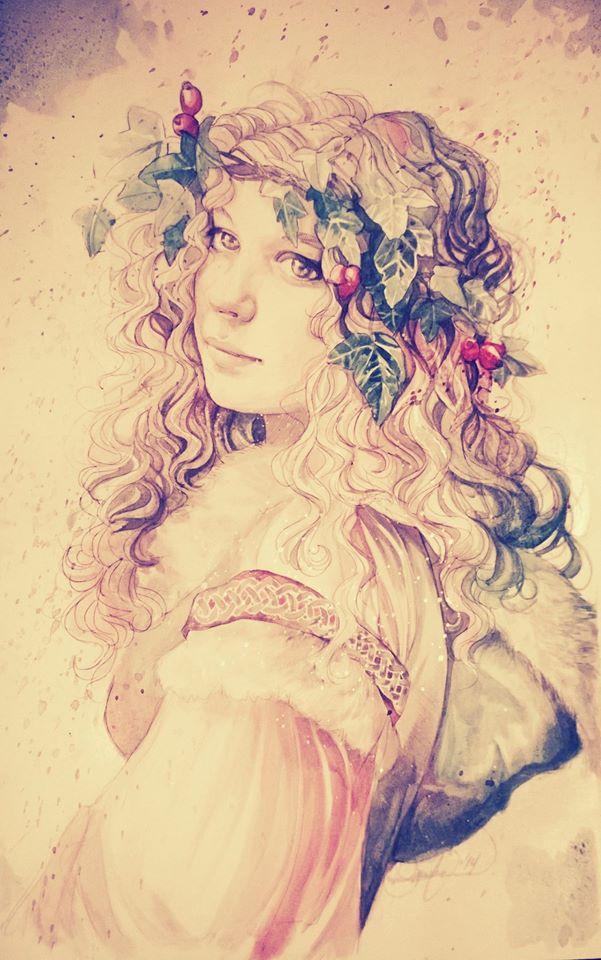 Wreath of Ivy by LadyEru