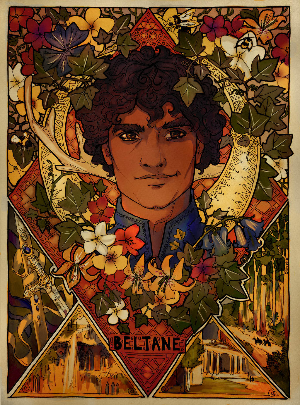 Pagan Holiday 1: Beltane by LadyEru on DeviantArt