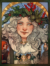 Pagan Holiday 4: Yule by LadyEru