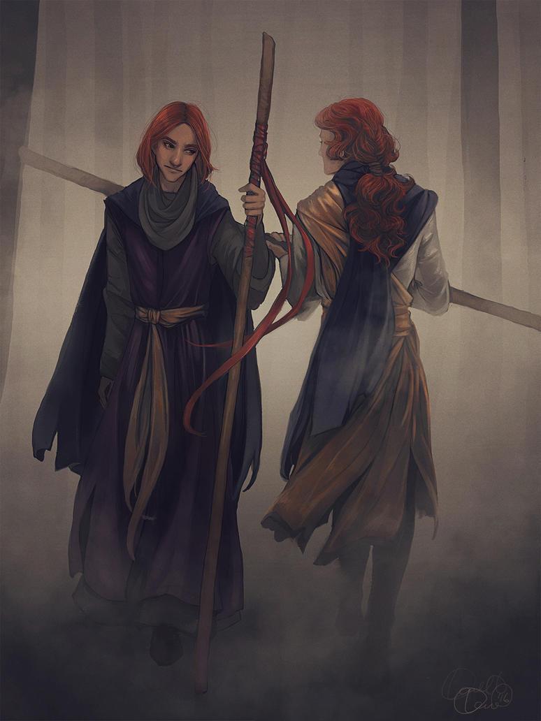 Crossing Paths by LadyEru