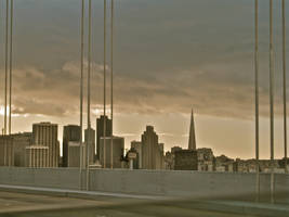 SF Skyline by AdrianVallence