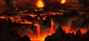 Lava rivers